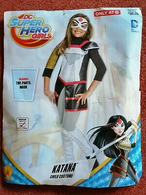 Mädchen Kinder Katana Super Hero Girls Superheld Dc - Katana Girl Kostüm