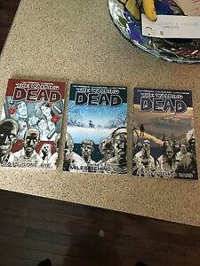 The Walking Dead Graphic Novels Volumes 1-6