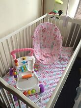 Baby cot and all in pic just for 175$ Footscray Maribyrnong Area Preview