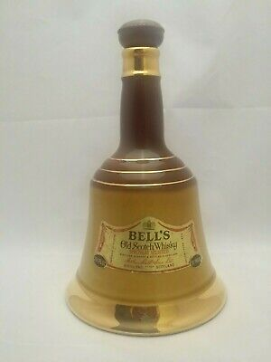 Collectible Bell's Old Scotch Whiskey Bottle Ceramic Wade Empty Barware Scotland for sale  Miami