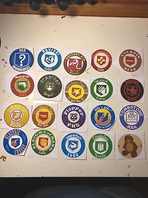 COD Zombies Perk Bottle Labels/Stickers (20-Pack) BO1 BO2 (Call Of Duty Zombies Perk Bottle Labels)