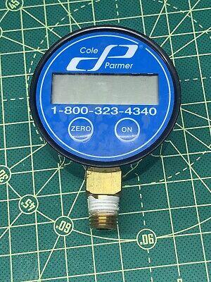 Cole Parmer Digital 1200-vacu 30 In Hg