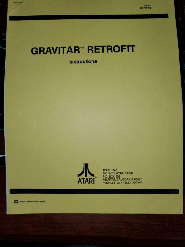 ATARI GRAVITAR RETROFIT MANUAL