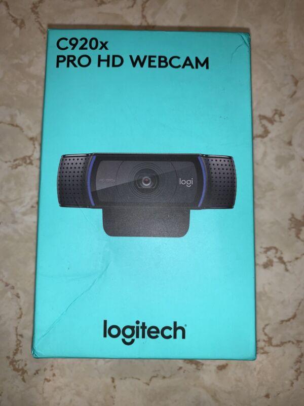 New Sealed In Box Logitech C920x Pro HD Webcam - 1080p  🚚🚚 Fast Shipping!