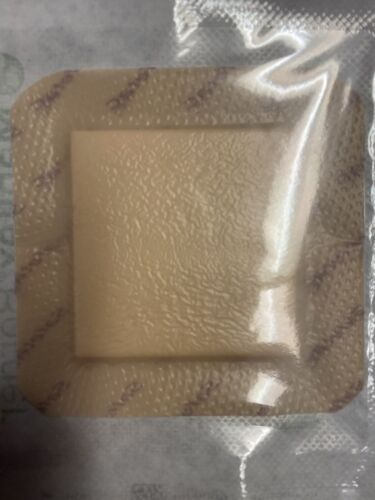 NEW UNOPENED Mepilex Border 4x4in. 25 Dressings Total FREE SHIPPING  - $35.00