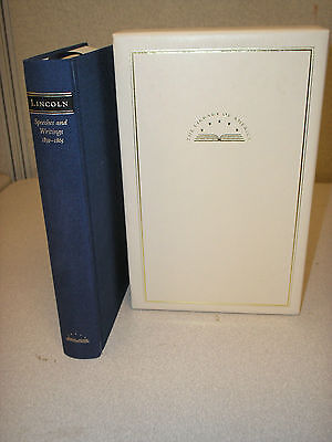 The Library Of America Abraham Lincoln Speeches And Writings 1859 1865 Slipcase