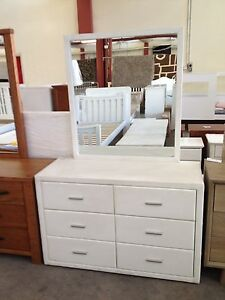 6 draw dresser white lot 8058 St Marys Penrith Area Preview