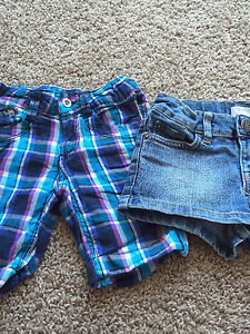 Shorts and skirt - 4T