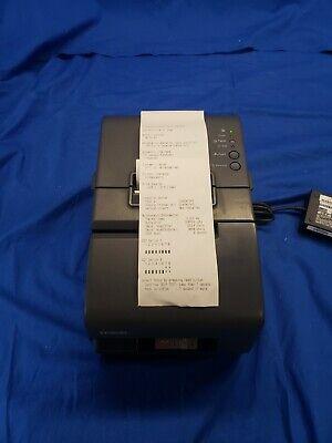 Epson Tm-h6000iv Pos Thermal Receipt Printer M253a W Ac Adapter 4764