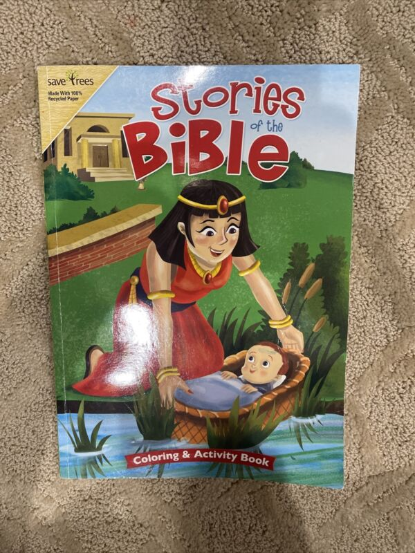 Stories of the Bible Coloring & Activity Book Kids