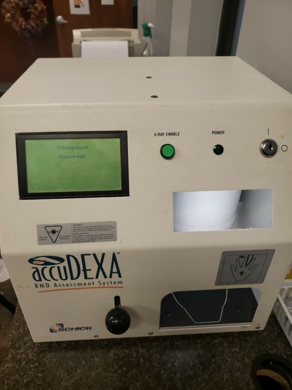 Schick AccuDEXA BMD Portable Bone Densitometer Model 7100