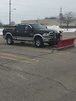 Snow plowing & Salting