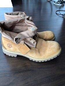 Barely worn size 12 timberland boots. Mens