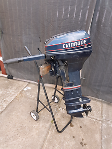 15hp evinrude outboard Coolaroo Hume Area Preview