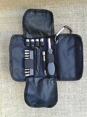 BMW K 1200 S/ R + K 1300 S/ R Tool Bag Case Borsa Tasche kit add on Bordwerkzeug