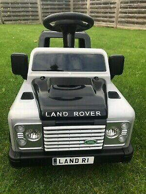 Land Rover Defender Electric Ride On Car up to 3km/h  Kids 3+ 6V Max 30KG