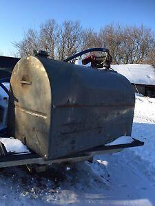 150 gallon slip tank with pump