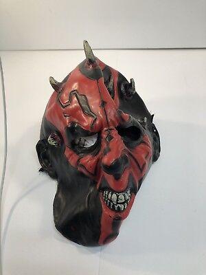 Star Wars Halloween Mask Darth Maul Rubber Latex Costume Mask - Darth Maul Halloween