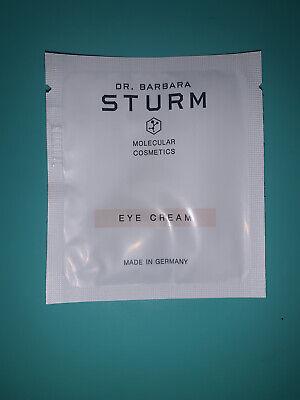 Dr. Barbara Sturm Eye Cream Lot Of 8 Sample Packets