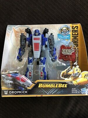 Transformers Dropkick Figure Bumblebee Movie Nitro Series 2018 Hasbro MOC