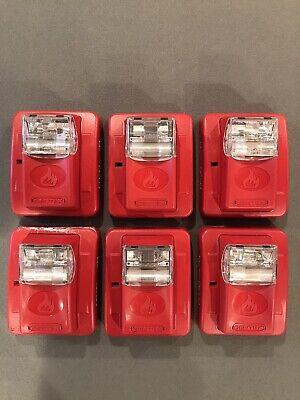 6 Gentex Fire Alarm Strobes Ges3-24wr