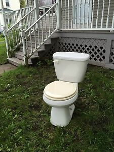 Free toilet, still works fine decided to renovate