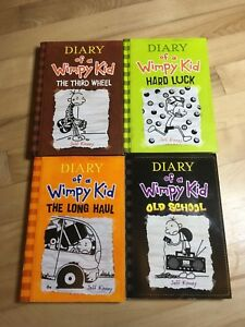 Diary of a wimpy kid books #7-10 set