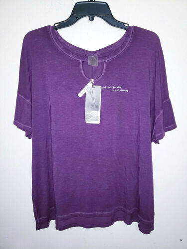 Womens Calia By Carrie Underwood Lounge Boxy Top Cropped Shirt New NWT