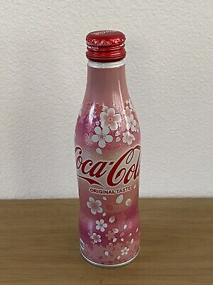 2019 Coca Cola Japan Exclusive Sakura Cherry Blossom 250ml Brand New Japan Full