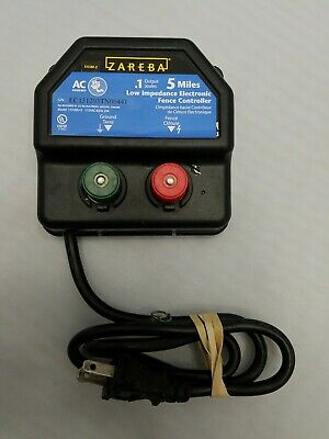 Zareba Ea5m-z Ac Powered Low Impedance Electronic Fence Controller 5 Mile