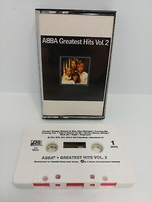 ABBA Greatest Hits Vol. 2 Cassette