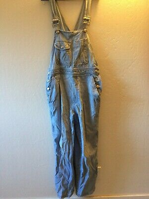 Vintage Overalls & Jumpsuits LEVI'S Straight Leg Jean Overalls 100% Cotton Sz Small Womens $28.00 AT vintagedancer.com