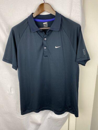 Roger Federer Nike 2008 Australian Open Polo Shirt Mens Size Large RF Tennis RAF