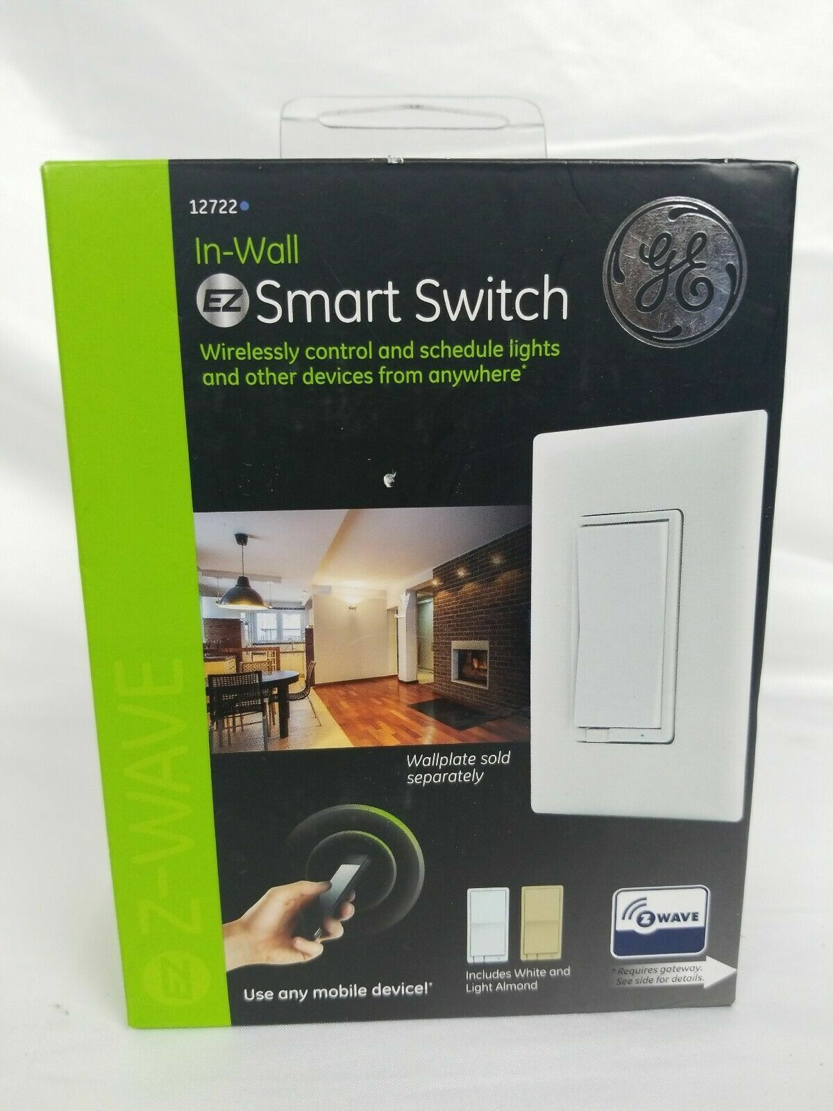 GE In-Wall EZ Smart Switches Z Wave Plus NEW!