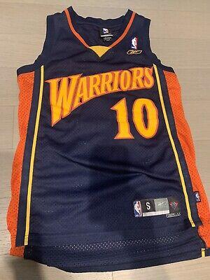 Vintage Speedy Claxton Warriors #10 Stitched Jersey