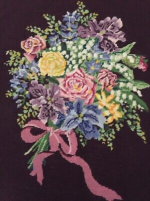 Tapestry Of Flowers 22 X 17 Inches
