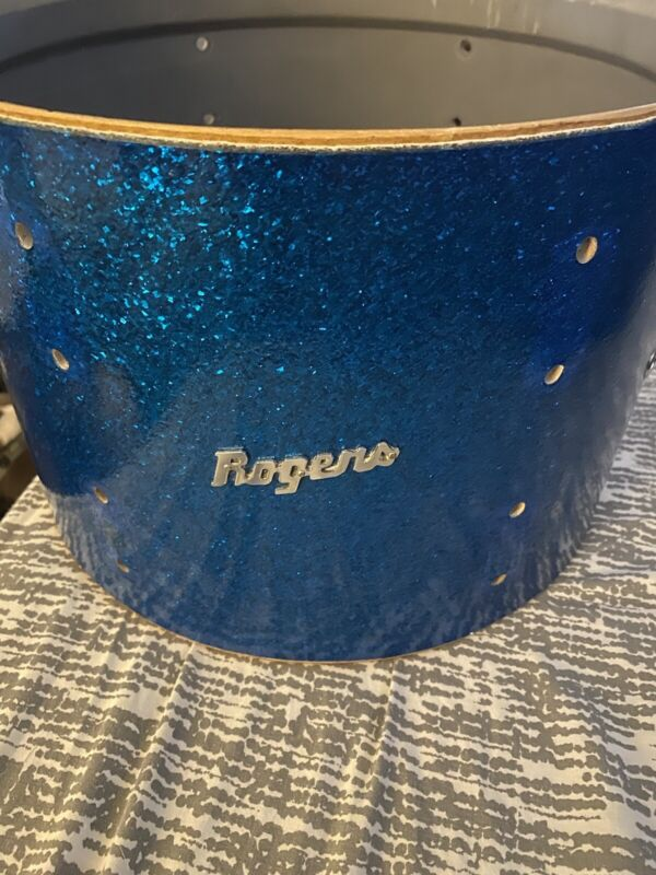 """1960s Rogers Holiday 13"""" Rack Tom Drum shell only"""