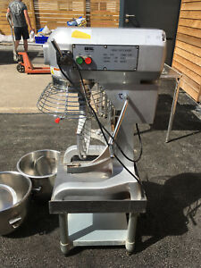 Buffalo 20L Planetary Mixer with Free Bowl, K-Beater, Dough-Hook and Stand