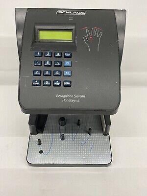 Schlage Hk-ii Hk-2 Handkey Ii Recognition Systems Biometric Reader
