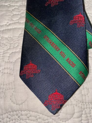 VINTAGE State Fair of Virginia Strawberry Hill Races Neck Tie