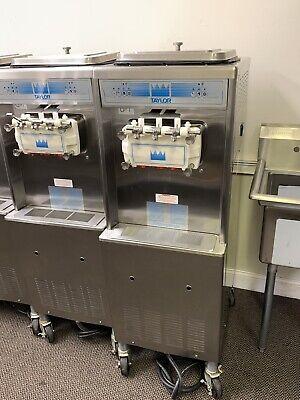 Taylor 336-33 Soft Serve Frozen Yogurt Machine 3 Phase Water Cooled
