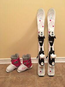 Tecnopro ski + boots kids girl