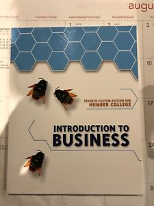 Intro to business for humber college