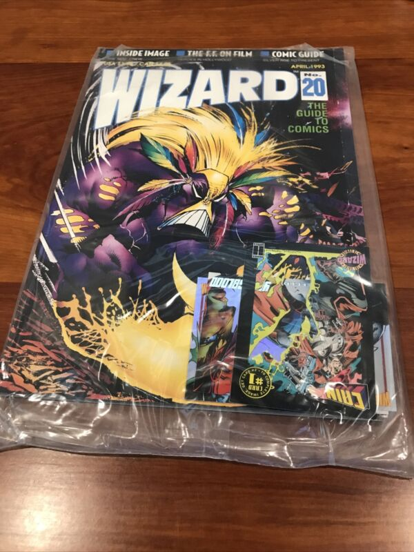 Wizard Guide To Comics 20 April 1993 unopened