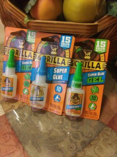 Gorilla glue super gel and one super glue. 2x $11.99