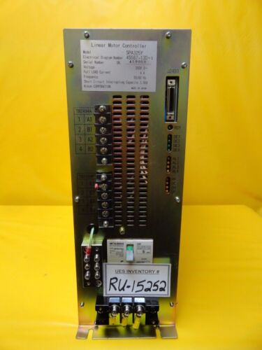 Nikon 4s587-130-1 Linear Motor Controller Spa325y Nsr-s204b Step-and-repeat Used