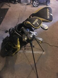Golf clubs . Used 3 times . 120$