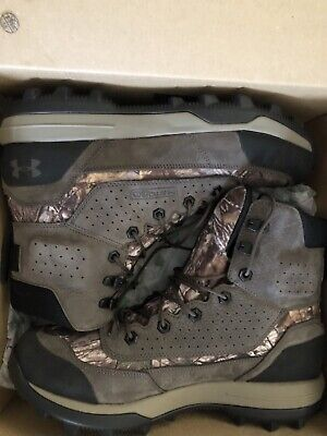 UNDER ARMOUR SF BOZEMAN 2.0 STORM WATERPROOF CAMO BOOTS NEW 1299238-901 =SIZE 11