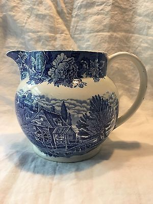 Woods Ware English Scenery 48oz Pitcher, Enoch woods, England