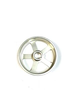 OBX Underdrive Crank Pulley For 1991 To 2002 All Saturn S Series 19L Silver